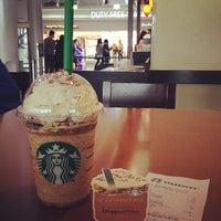 Photo taken at Starbucks Coffee 関西国際空港エアサイド店 by Mayumi I. on 4/25/2013