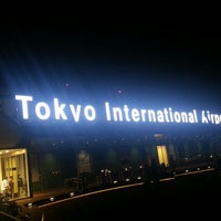 Photo taken at Tokyo (Haneda) International Airport (HND) by Tbowy on 7/9/2013