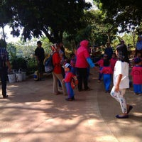 Photo taken at Taman Rekreasi Sengkaling by Arintya Y. on 5/8/2014