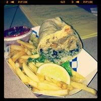 Photo taken at Piaggio Gourmet on Wheels by Vernon H. on 1/10/2013