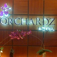 Photo taken at Orchardz Hotel by Nupian S. on 12/1/2012
