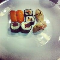 Photo taken at Wok Sushi by Marcelo B. on 11/30/2012