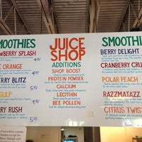 Photo taken at The Juice Shop by Rafael A. on 5/4/2014