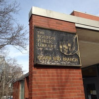 Photo taken at Boston Public Library - South End Branch by Totsaporn I. on 3/11/2014