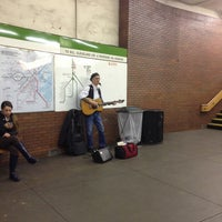 Photo taken at MBTA Hynes Convention Center Station by Totsaporn I. on 4/12/2013