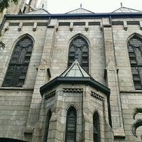 Photo taken at Gereja Katolik Katedral Jakarta by nickolas b. on 10/28/2012