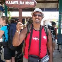 Photo taken at DR Lanta Bay Resort Koh Lanta by Ashutosh P. on 11/27/2014