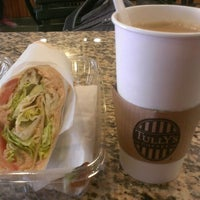 Photo taken at Izzy's Brooklyn Bagels by Ritzyl C. on 4/9/2013