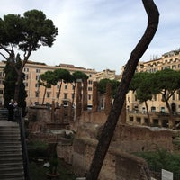 Photo taken at Largo di Torre Argentina by Maria T. on 9/27/2012