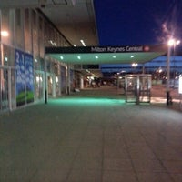 Photo taken at Milton Keynes Central Railway Station (MKC) by Hannah on 2/2/2013