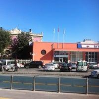 Photo taken at Sirkeci Tramvay Durağı by D. Turgut on 10/14/2012