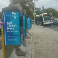Photo taken at MTA Bus - B46/B46+SBS+ @ Utica Avenue/Malcolm X Blvd & Fulton Street by ♥Curtis R. on 10/16/2016