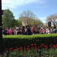 Photo taken at Dupont Circle by Caitlin on 4/21/2013