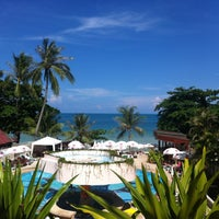 Photo taken at Chaba Samui Resort by Wa on 5/1/2013