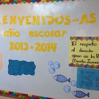 Photo taken at Colegio Gregorio Hernández by Anabelle on 8/29/2013
