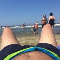 Photo taken at Spiaggia Libera by Nuno A. on 7/12/2015
