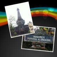 Photo taken at Monumen Puputan Klungkung by Dewa pangto on 5/18/2013