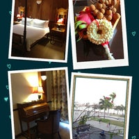 Photo taken at Bougainvillier Hotel by Mod'X S. on 3/31/2013