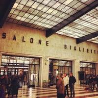 Photo taken at Firenze Santa Maria Novella Railway Station (ZMS) by Luca on 12/21/2012