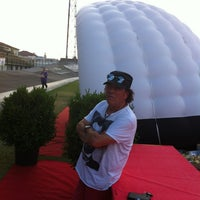 Photo taken at Stadio Velodromo Rino Mercante by Franca on 7/19/2013