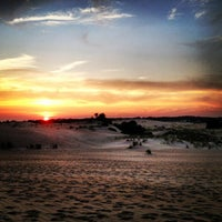 Photo taken at Jockey's Ridge State Park by Sarah on 7/27/2013