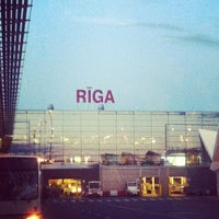 Photo taken at Riga International Airport (RIX) by Ренат Ш. on 7/1/2013