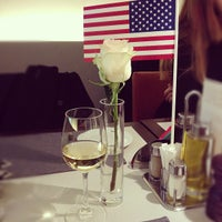 Photo taken at EMPORIO ARMANI CAFFE by Константин Г. on 10/28/2012