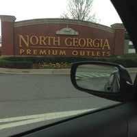 Photo taken at North Georgia Premium Outlets by Nathan H. on 12/12/2012