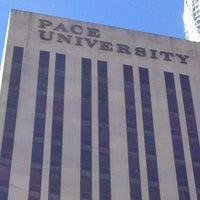 Photo taken at Pace University by Mark K. on 9/23/2012