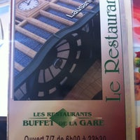 Photo taken at La Pinte - Buffet de la gare CFF by Dzakyem -. on 10/3/2012