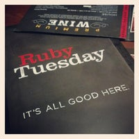 Photo taken at Ruby Tuesday by Bmorefrench on 1/6/2013
