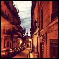 Photo taken at Plaza de Lavapiés by Oscar M. on 11/18/2012