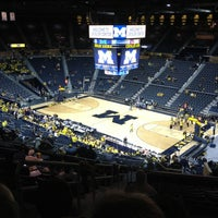 Photo taken at Crisler Center by Elizabeth on 12/5/2012