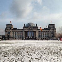 Photo taken at Reichstag by Andrés Z. on 2/13/2013