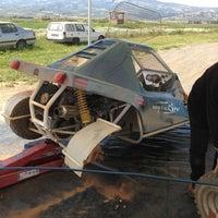 Photo taken at Χωματινη Πιστα http://www.rallyclub.gr by Andreadakis® on 4/20/2013