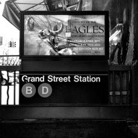 Photo taken at Grand St. by Shawn K. on 4/27/2013