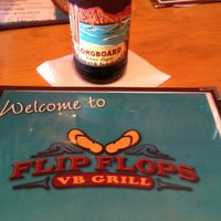 Photo taken at Flip Flops Grill + Chill by Howard G. on 7/5/2013