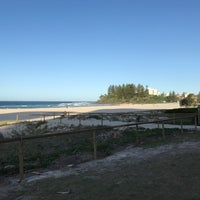 Photo taken at Coolangatta Beach by Clea R. on 12/29/2016