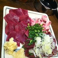 Photo taken at やきとん ひょっとこ by Seiya on 11/9/2012