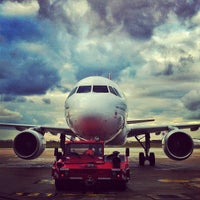 Photo taken at Aéroport de Paris-Orly (ORY) by Carlos P. on 2/8/2013