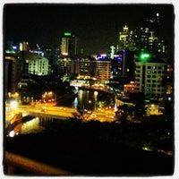 Photo taken at Novotel Singapore Clarke Quay by Tugce K. on 10/25/2012
