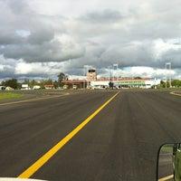 Photo taken at Pichoy Airfield (ZAL) by David Ignacio on 10/25/2012