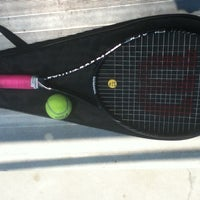 Photo taken at USD Tennis Courts by Nil on 7/18/2013
