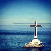 Photo taken at Sunken Cemetery Cross by hazel beth g. on 3/23/2013