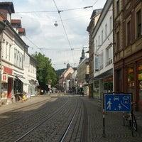 Photo taken at Altstadt Durlach by Werner D. on 7/19/2015