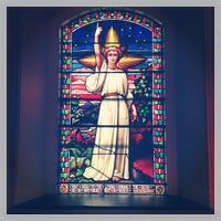 Photo taken at St. Mark's Church in the Bowery by Eric C. on 6/23/2013