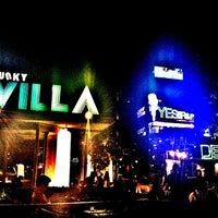 Photo taken at Funky Villa by piyadan on 3/1/2013