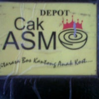 Photo taken at Depot Cak Asmo by D S. on 10/29/2012