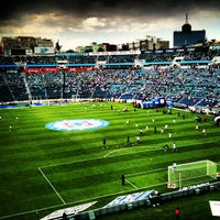Photo taken at Estadio Azul by Luis R. on 3/30/2013