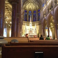 Photo taken at Saint Francis Xavier College Church by Jonathan E. on 2/24/2013